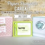 ONLINE CLASS & VIDEO: July 2017 Paper Pumpkin Kit, Alternate Project & Giveaway