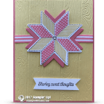 CARD: Sweet Thoughts from the Christmas Quilt Bundle Series Part 4 of 4