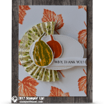 CARD: Why, Thank You from Gourd Goodness Part 2 of 2
