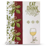 CARD: Drink and Be Merry from the Half Full Stamp Set