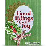 CARD: Beautiful Good Tidings of Great Joy Card