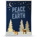 CARD: Peace on Earth from the Carols of Christmas Stamp Set