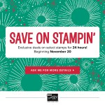 SALE: Online Extravaganza Sale – ends Sunday, November 26