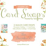 SWAP: Stampin Up Occasions & SAB Catalog Pre-Order Card Swap – Due December 29
