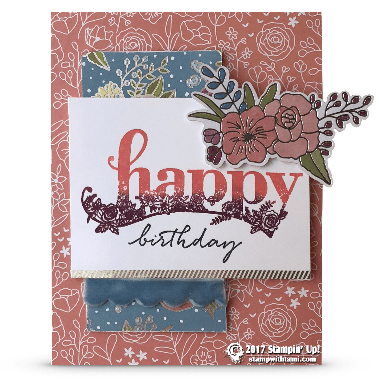 SNEAK PEEK Happy Birthday Card From The Sale A Bration Wishes