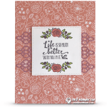 SNEAK PEEK: Life is Better Card from Sale-a-Bration Lots of Lavender
