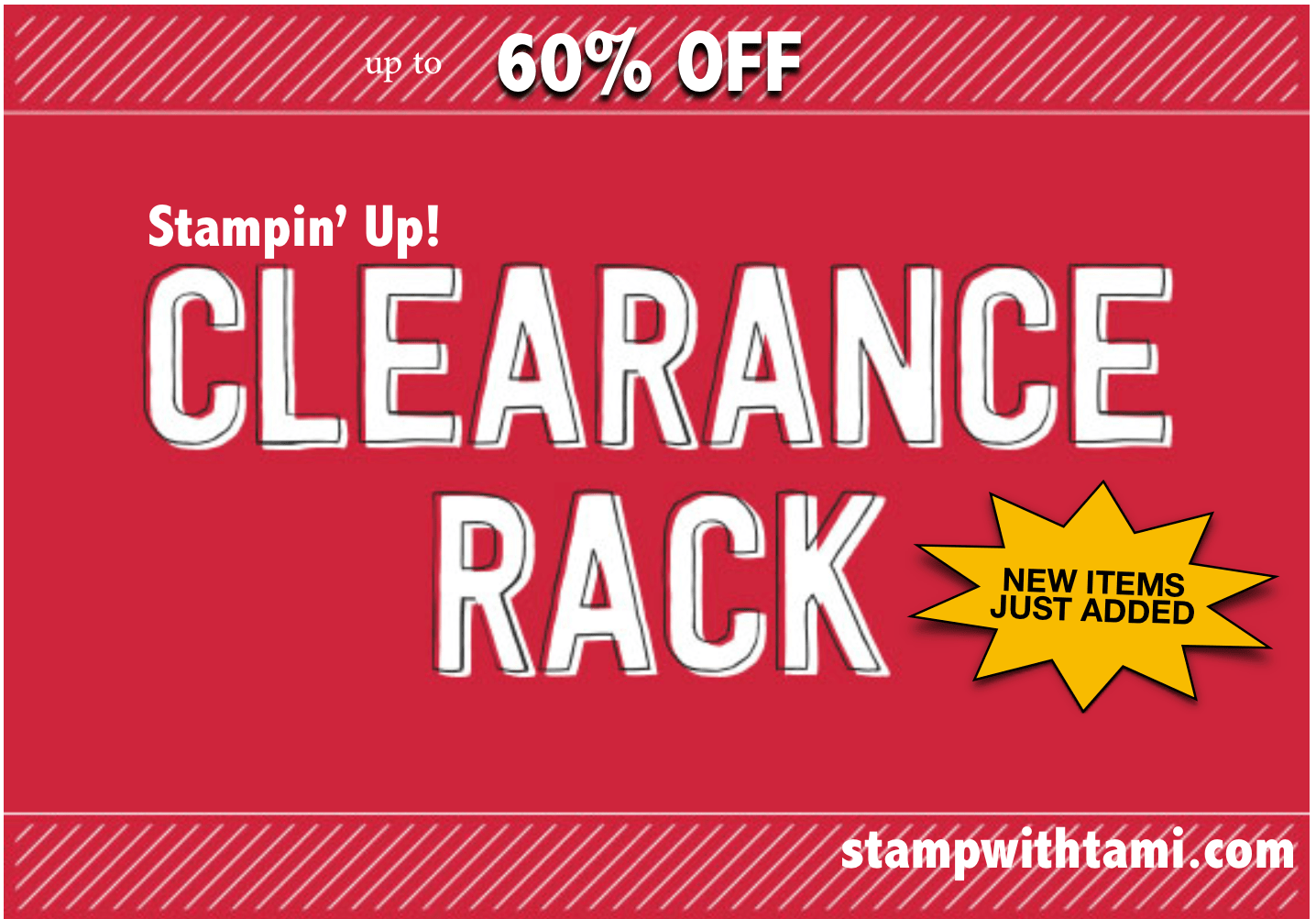 SALE Up To 60 OFF My Clearance Rack Has Just Been