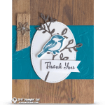 CARD: Thank You Card from the Petal Palette Stamps – Part 1