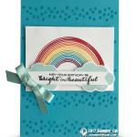 CARD: May Your Birthday Be Bright and Beautiful Card Rainbow