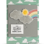 CARD: You Can't Have a Rainbow Without a Little Rain Card