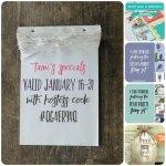 SPECIALS: Tami's Ordering Gift Tutorials  for January 16-31 – Hostess Code QG4ER94Q
