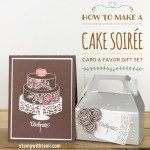 BLOG HOP & GIVEAWAY: How to make Wedding / Party Card and Favor Sets – Part 1 in my Sweet Soiree Suite Series