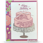 CARD: May Your Day be Wonderful Birthday Card – Part 6 in Sweet Soiree Series