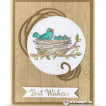 CARD: Best Wishes from the Flying Home Stamp set – Part 3