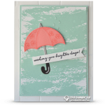 RETIRING: Wishing you Brighter Days from Weather Together Stamps