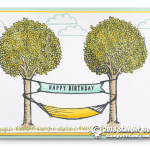 CARD: Happy Birthday from the In the Trees Stamp Set