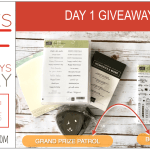 DAY 1 of 8 Days of Giveaways in May – 2 prizes a day, entry and details here