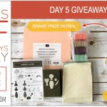 DAY 5 of 8 Days of Giveaways in May – 2 prizes a day, entry and details here