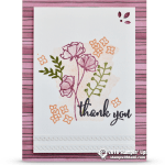 CARD: Thank You Card from my Share What You Love Series Part 9