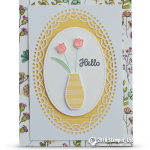 SNEAK PEEK: Hello Floral Vase Card from the Varied Vases Bundle