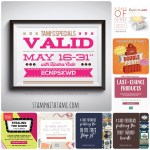 SPECIALS: Tami's Ordering Gift Tutorials  for May 16-31- Hostess Code ECNPSKWD