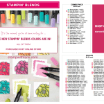 NEWS: The New Stampin Blends Markers Colors are now in! Got them while they're hot!