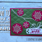BLOG HOP & GIVEAWAY: Christmas in July Sparkle Card