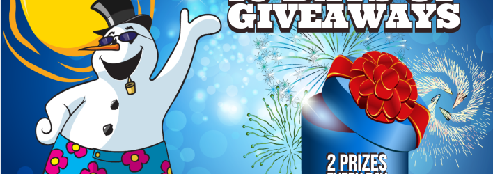 Christmas in July – 10 Days of Giveaways is coming! July 19-28