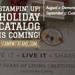 NEWS: 2018 Holiday Catalog Pre-Order begins today for Demonstrators