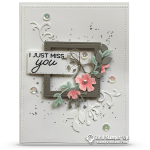 CARD: Blended Season Miss You Card – Part 1