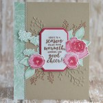 CARD: Season of Cheer from the Frosted Floral Bundle