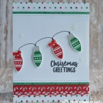CARD: Christmas Greetings card from Making Everyday Bright
