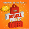 SPECIAL: Double Frequent Buyer Points – Earn Free Stamps March 1 – 15 – Hostess Code EJFZGGY7