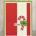 CARD: Ho Ho Ho Be Jolly from the Candy Cane Season Stamp Set
