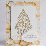 CARD: Lots of Love from the Happiness and Cheer Stamp Set