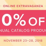 SALE: 10% OFF Stampin Up Online Extravaganza almost the entire Annual Catalog- November 23-28
