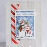 CARD: Love Never Melts from the Spirited Snowman Stamp Set