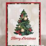 CARD: Timeless Tidings Christmas Tree Card