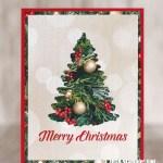 CARD: Timeless Tidings Christmas Tree Card