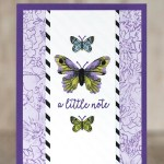 CARD: A little not from the Butterfly Gala Bundle in the Occasions Catalog