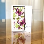 CARD: Gorgeous Butterfly Card from the Beauty Abounds Stamp Set