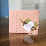 CARD: Sympathy Card from the Floral Romance Suite