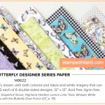 Sale-a-bration 2019 Card Ideas: The Botanical Butterfly  Designer Paper