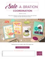 Sale-a-Bration Coordinaton Products