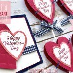 BLOG HOP & VIDEO: How to make a set of Valentine's Day Heart Projects
