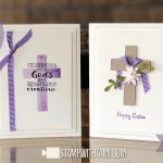 BLOG HOP & VIDEO: How to make Easter Cross Cards