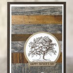 CARD: Father's Day card from the retiring Lovely as a Tree stamps