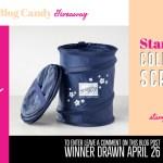 BLOG CANDY GIVEAWAY:  Stampin' Up Logo Pop Up Scrap Bin