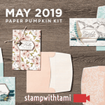 "VIDEO: May Paper Pumpkin Kit ""The Shelli Kit"" Reveal & Giveaway"