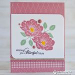 CARD: Blissful future from the new Floral Essence stamp set